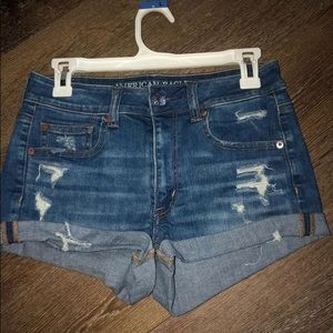 american eagle jean shorts! never worn